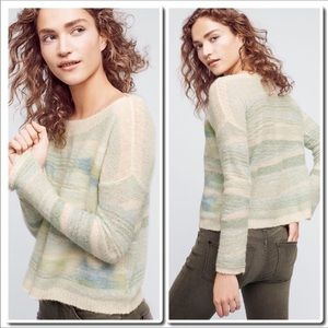 Anthropologie Frosted Horizons Sweater